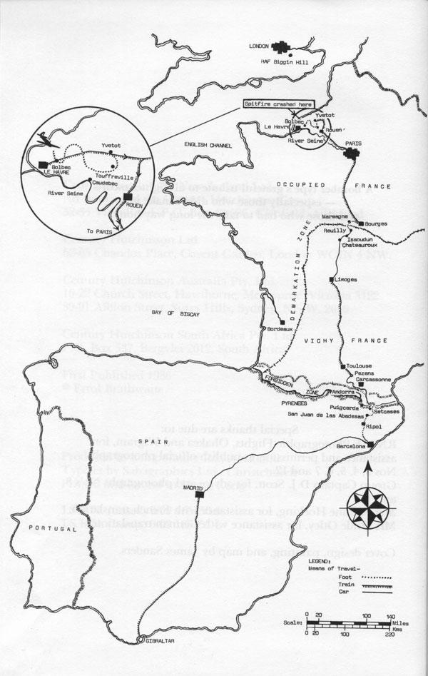 Mapa. El camino de la libertad